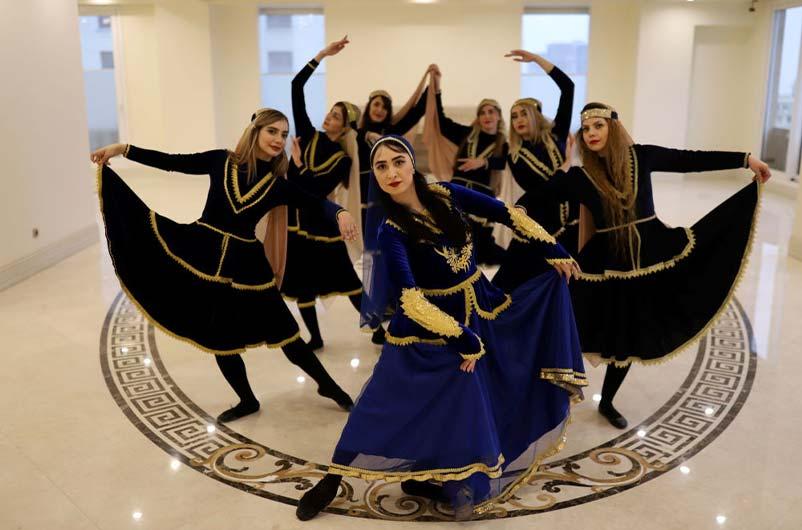 تاریخچه رقص در ایران