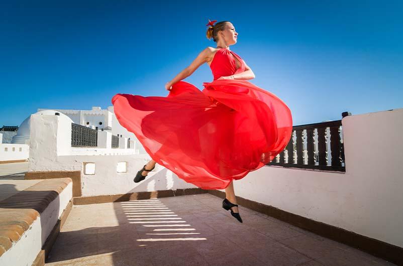 نکته های رقص عربی