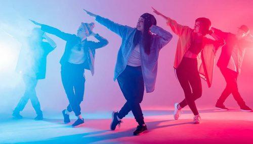 آموزش رقص با آهنگ